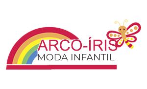 Logo arco iris moda kids