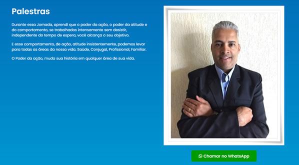 imagem da terceira pagina do site do Palestrante Wellington Sousa criado por nós da sizeweb