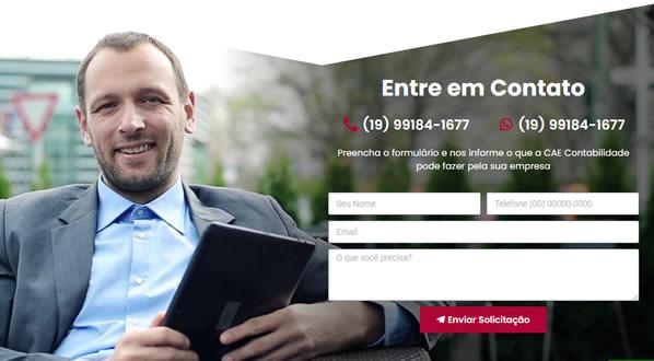 imagem da terceira pagina do site CAE Contabil criado por nós da SizeWeb