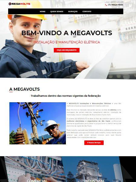 Criação de Site para Eletricista