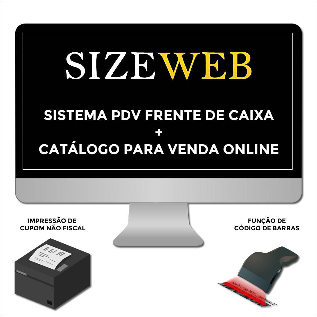 Sistema PDV Frente de Caixa com Função de Vendas Online